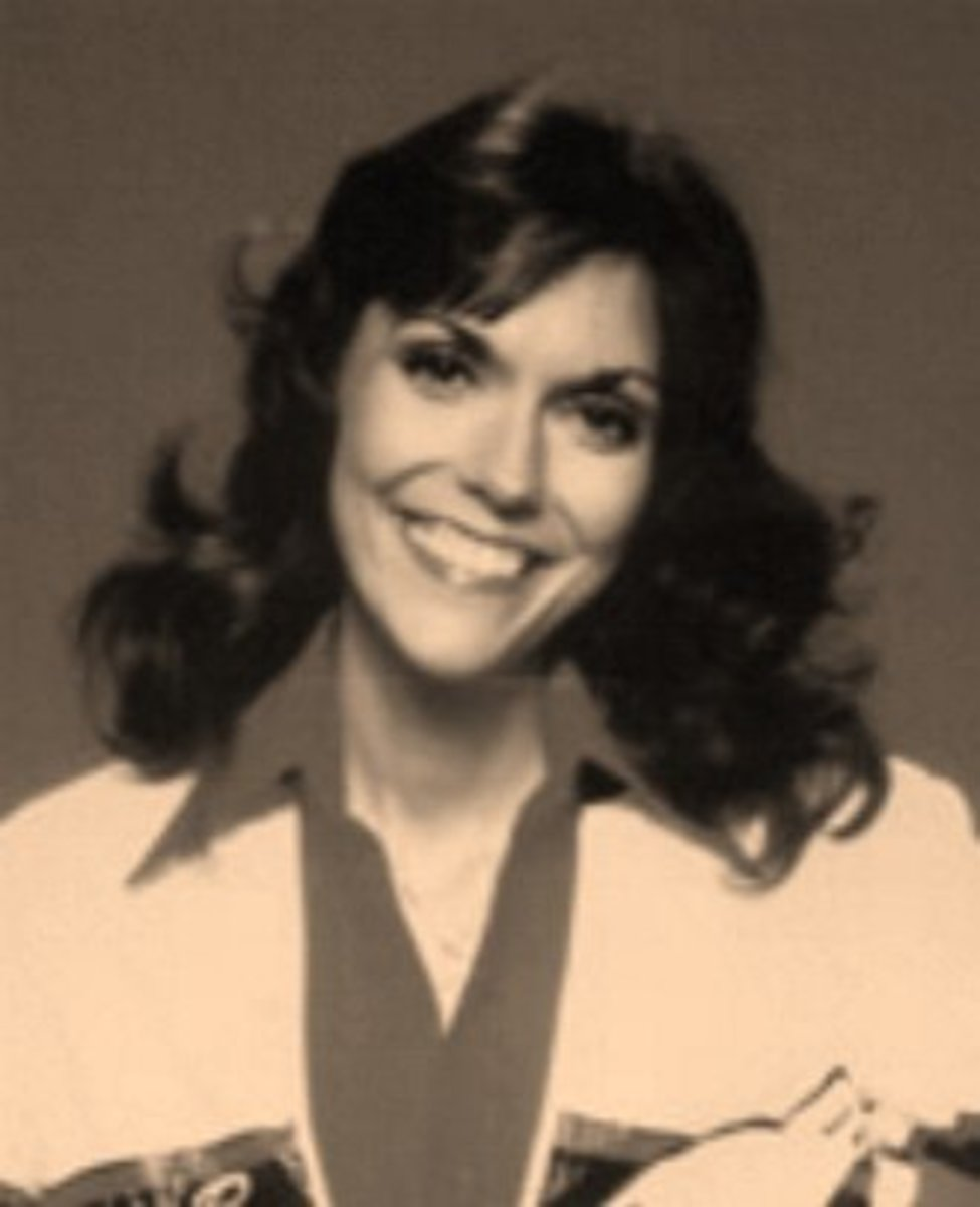 Favorite Female  Singers -Karen Carpenter - Canadian Female Singers and American Female Singers