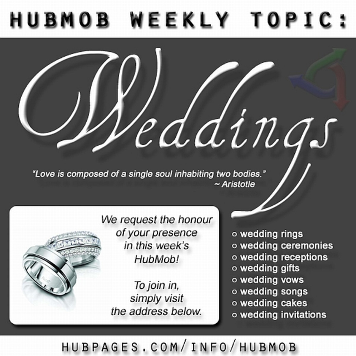 Hubmob: Weddings