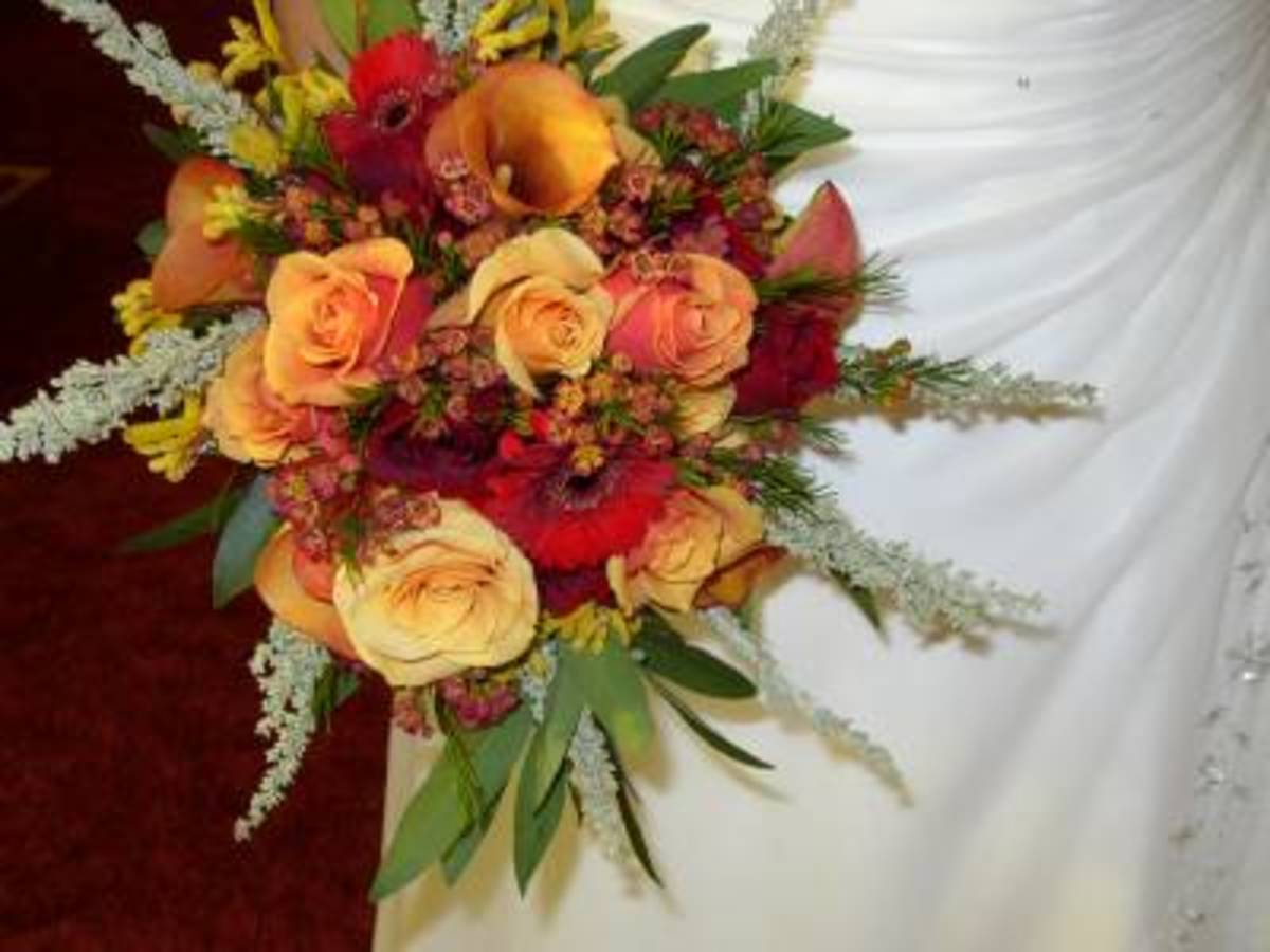 Maid of Honor and Bridesmaids' Arrangements