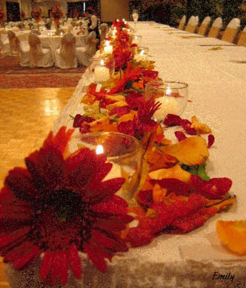 Autumn tables