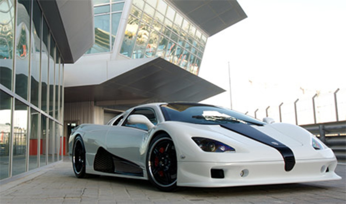 SSC Ultimate Aero EV - 200mph+