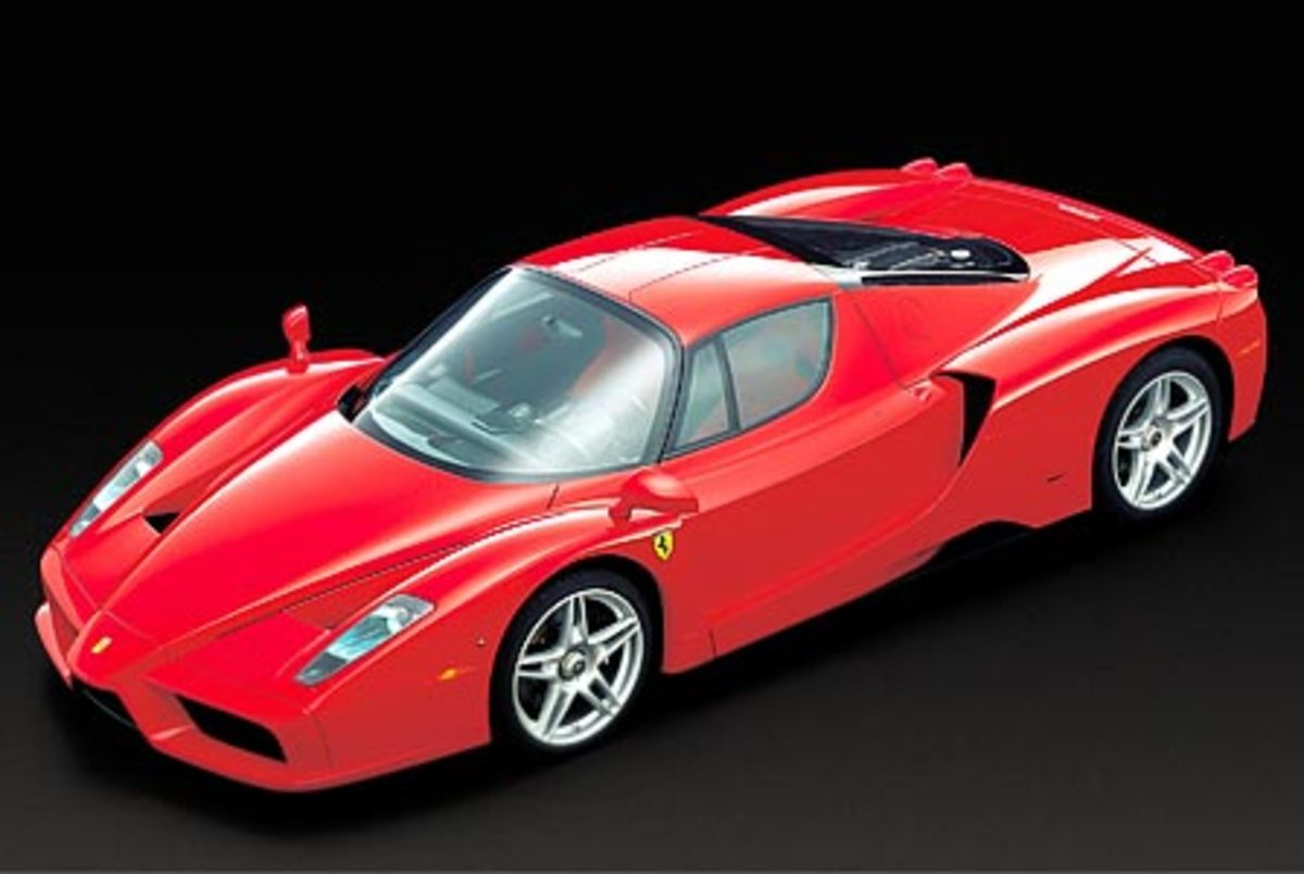 Ferrari Enzo - 217mph