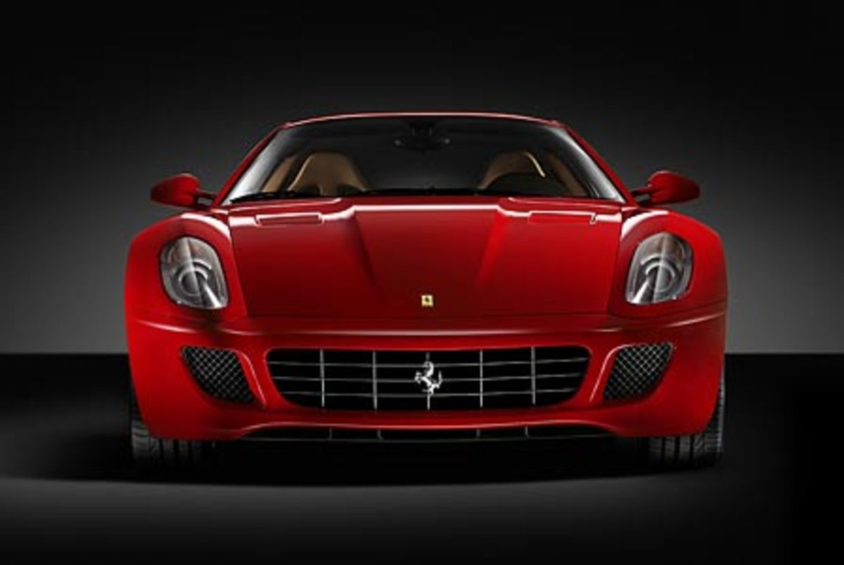 Ferrari 599GTB - 205mph