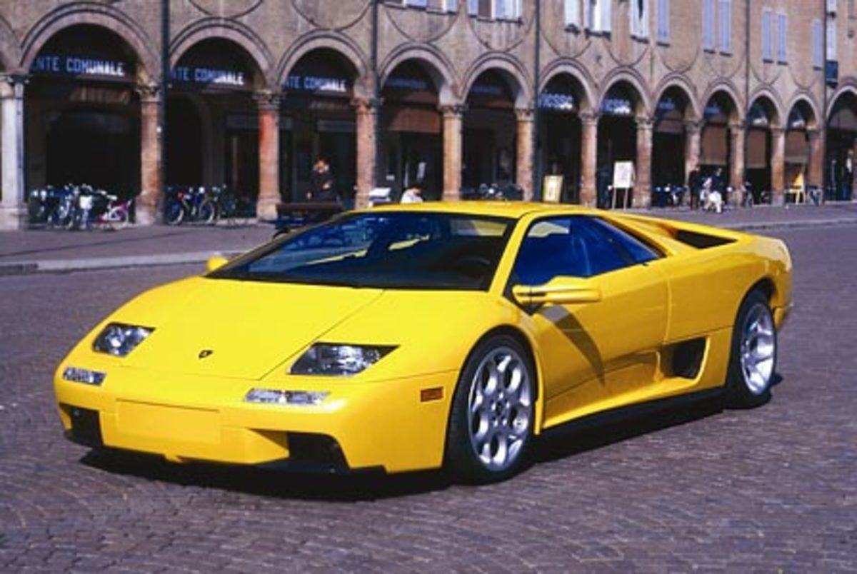 Lamborghini Diablo GT - 211mph
