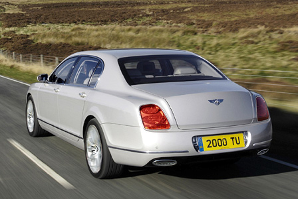 Bentley Flying Spur Speed - 200mph