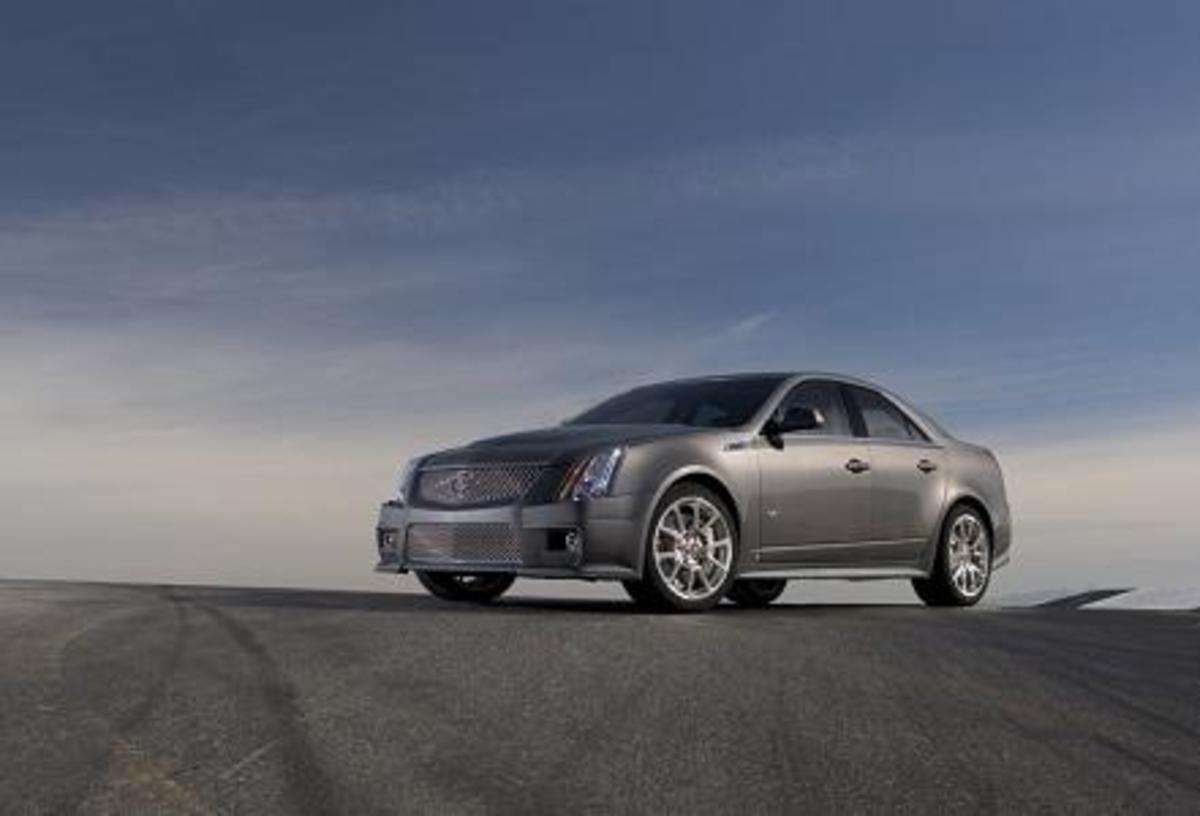 Cadillac CTS-V - 191mph