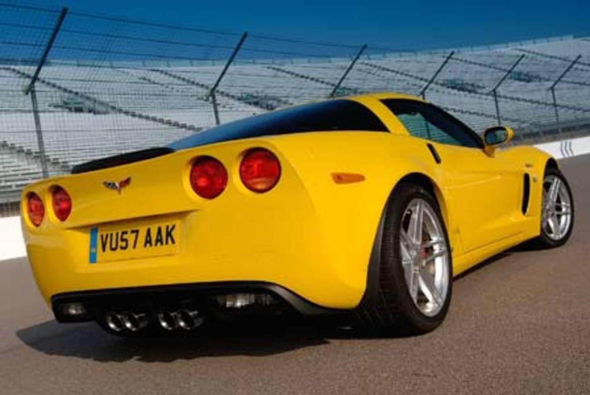 Corvette Z06 - 190mph