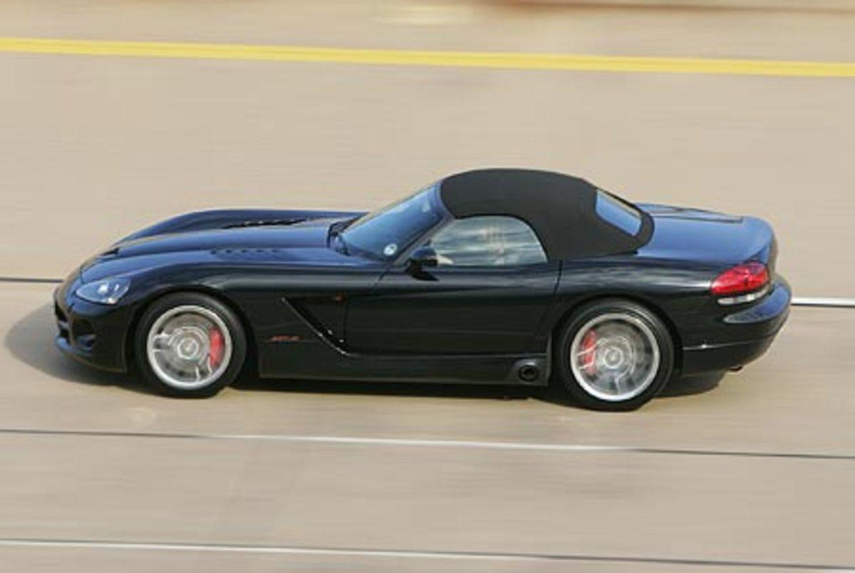 Dodge Viper SRT 10 - 190mph
