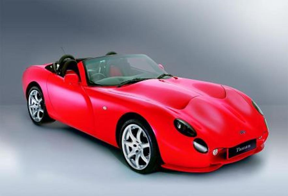 TVR Tuscan - 195mph