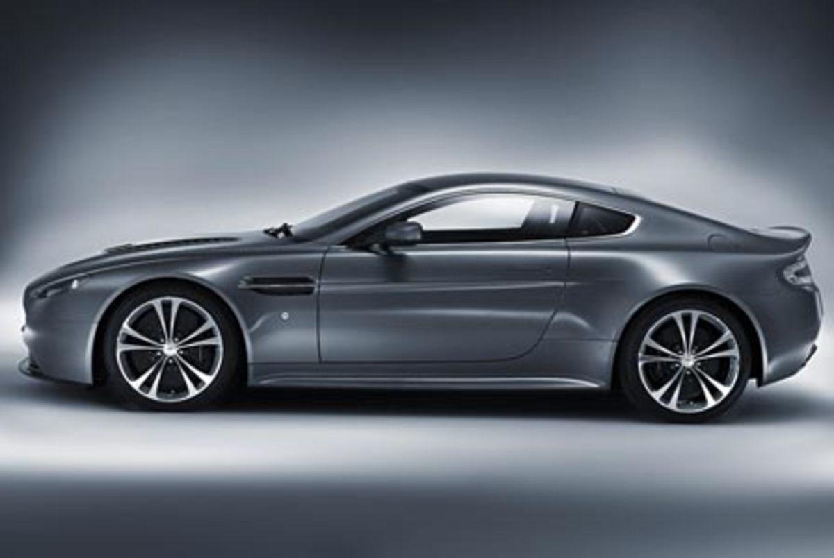 Aston Martin V12 Vantage - 190mph