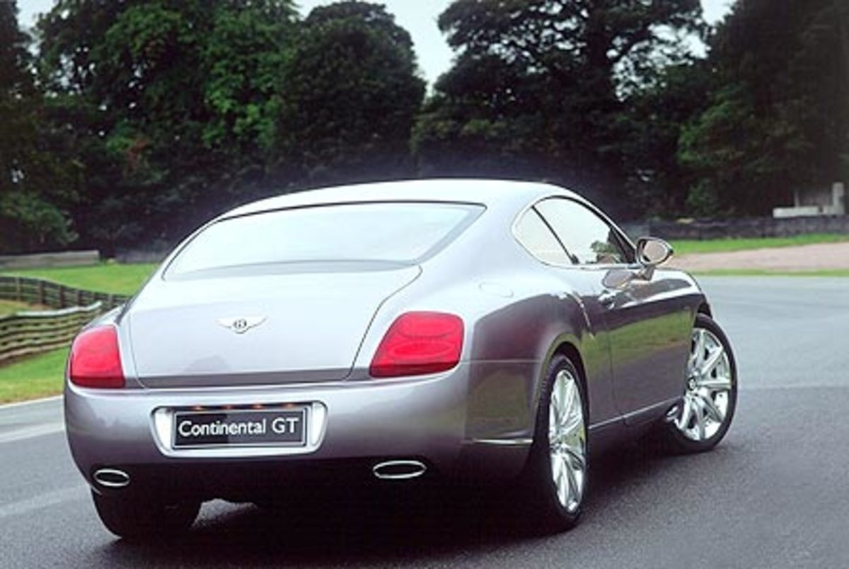 Bentley Continental GT - 200mph