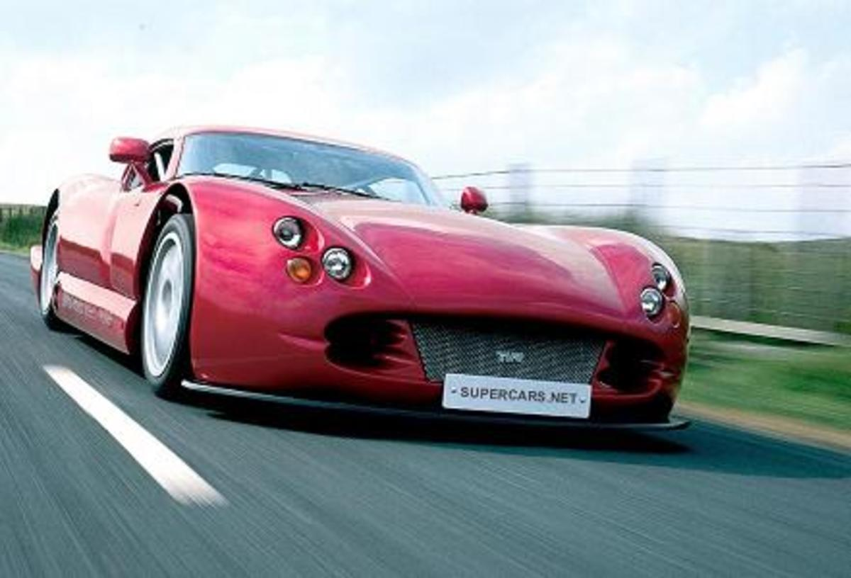 TVR Cebera Speed 12 - 240mph