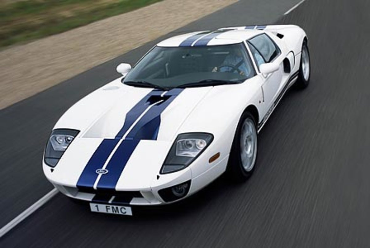 Ford GT - 205mph