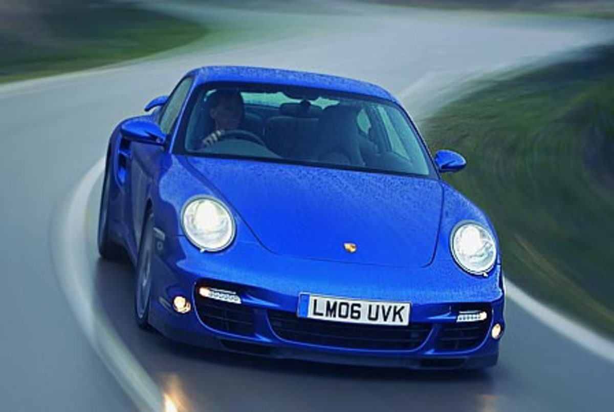 Porsche 911 Turbo - 193mph