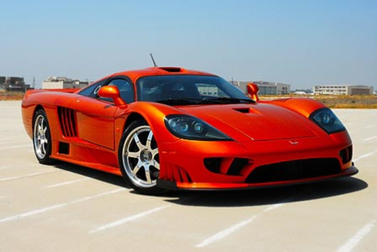 Saleen S7 Twin Turbo - 248mph
