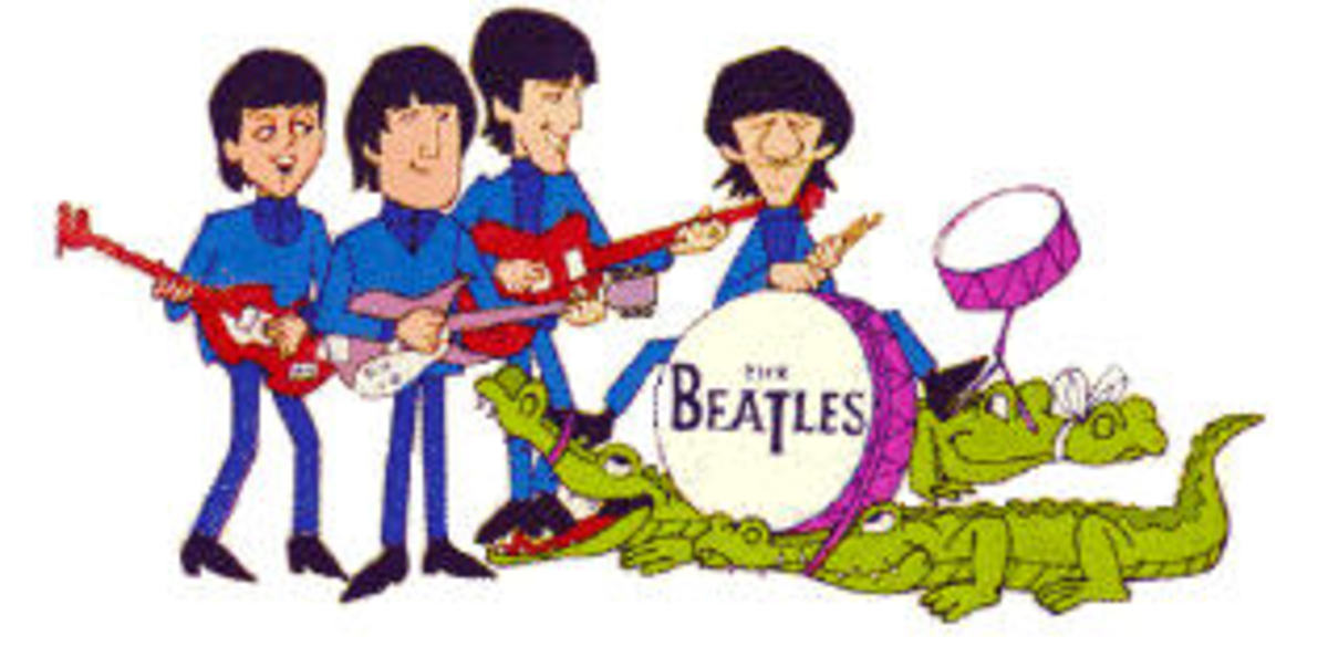 Beatle cartoons 65-67