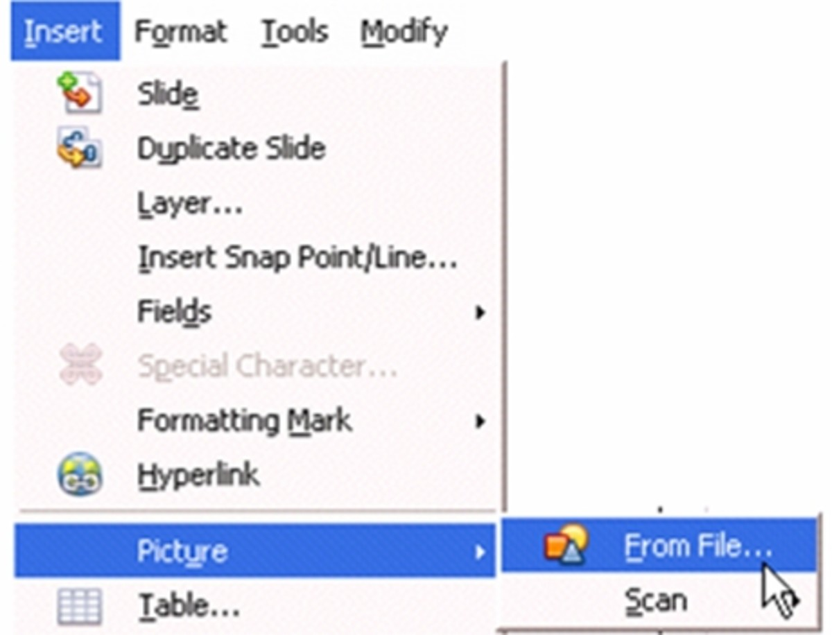 how to rotate    flip pictures or photos with open office