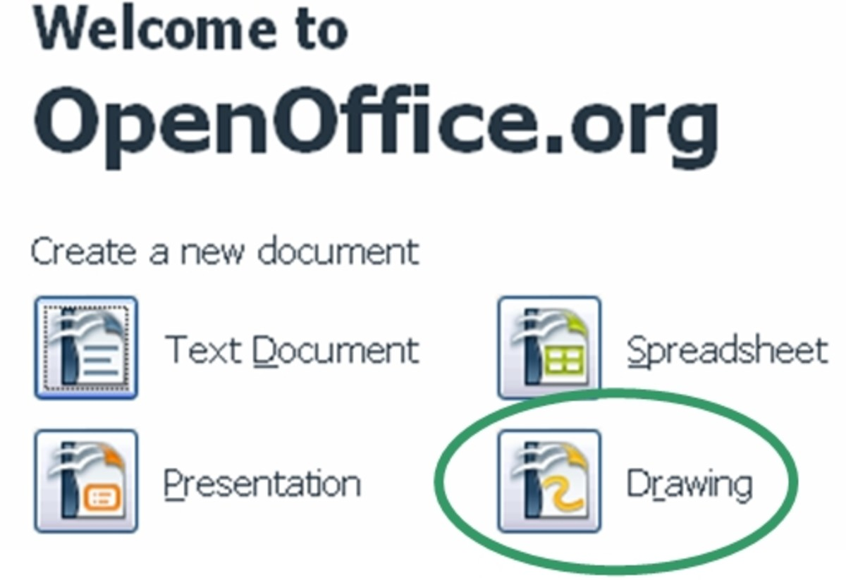 Open Office start menu