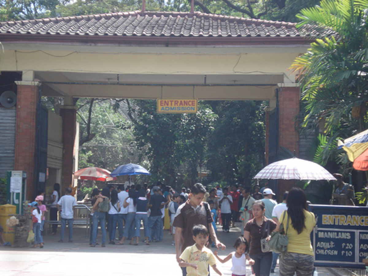 Manila Zoo in the Philippines