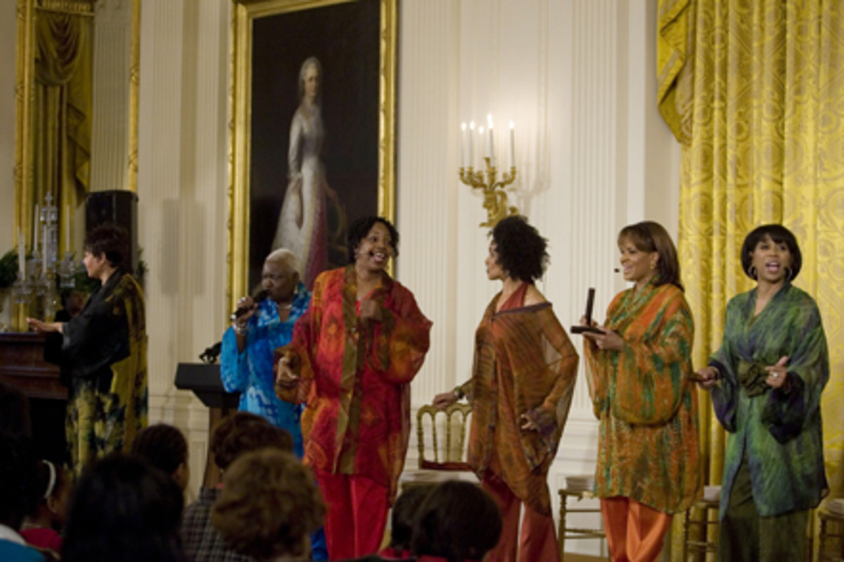 At the Obama Whitehouse in Washington DC in February 2009. [Photos this page public domain, unless otherwise credited.]