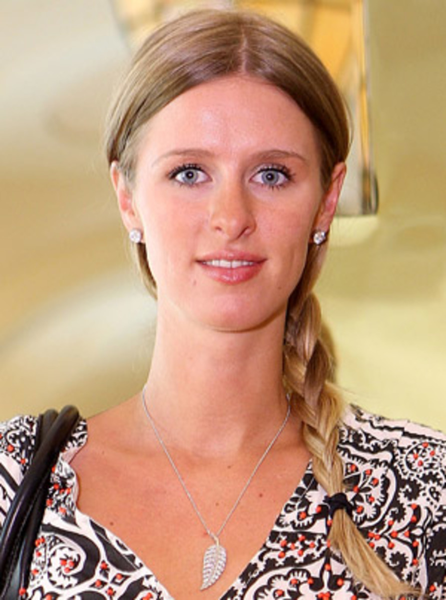 Nicky Hilton...      Ummmm, No. Sorry Nicky, your right next to Paris on this one.