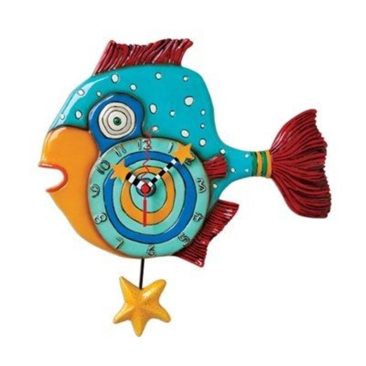 Mr. Fishy Clock Michelle Allen Designs