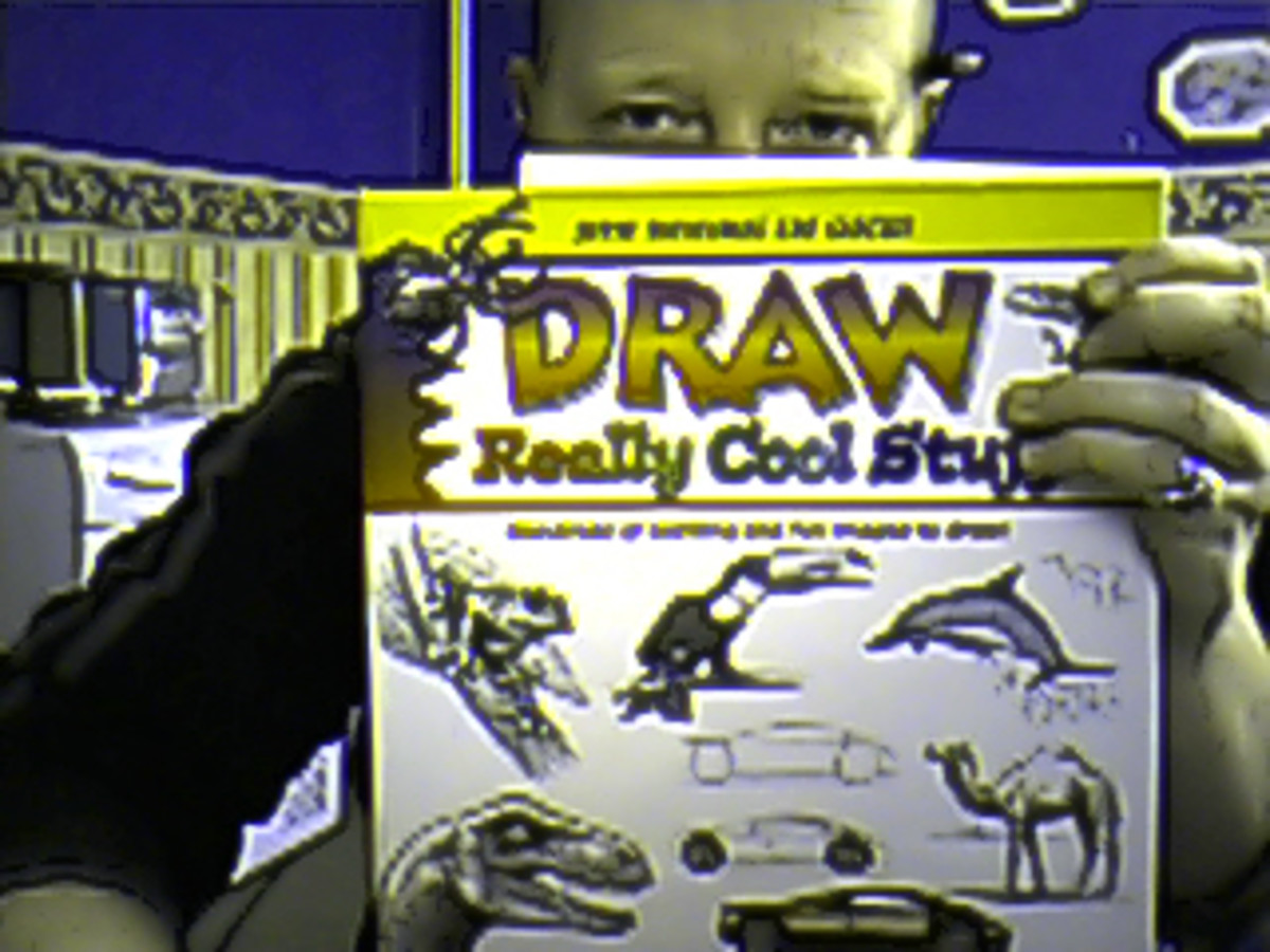Draw Really Cool Stuff the book that I now own.