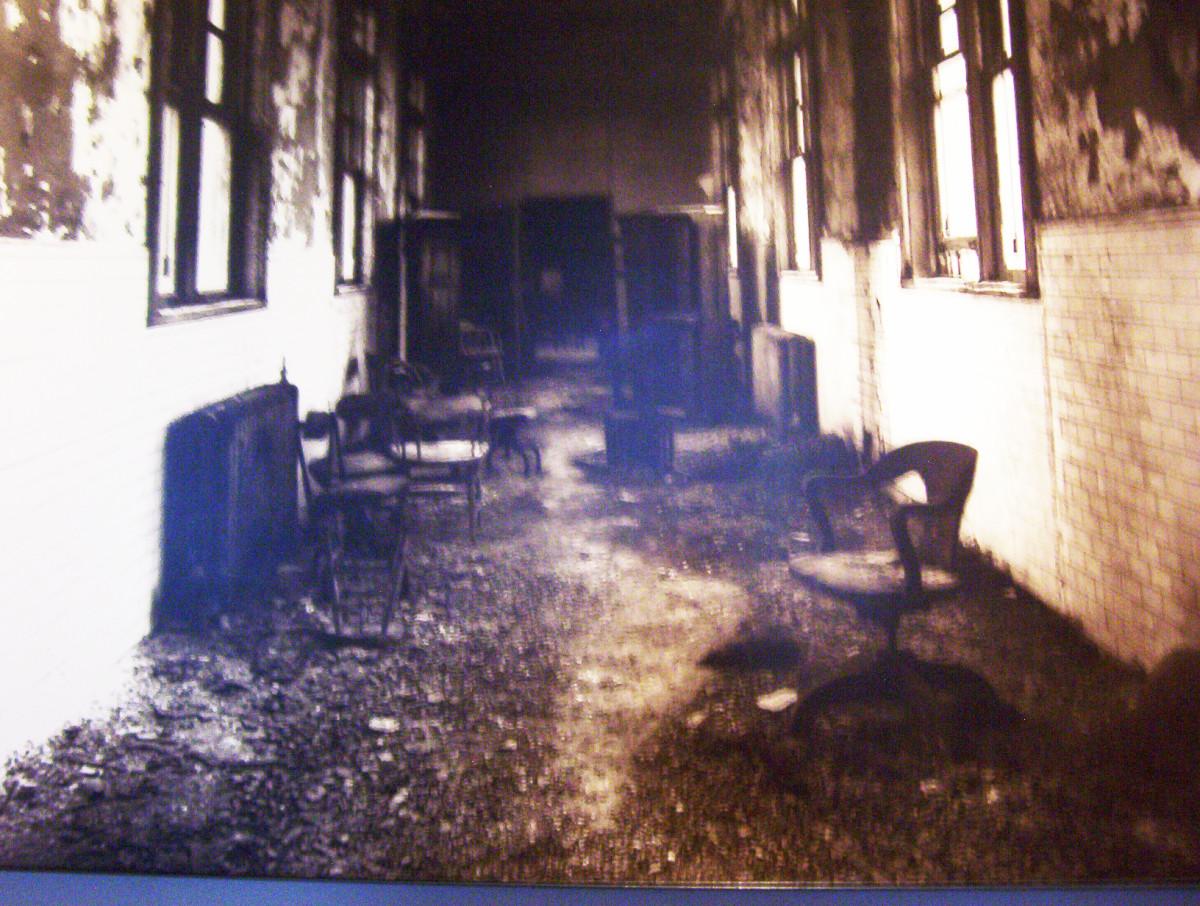 Ellis Island fell into ruin