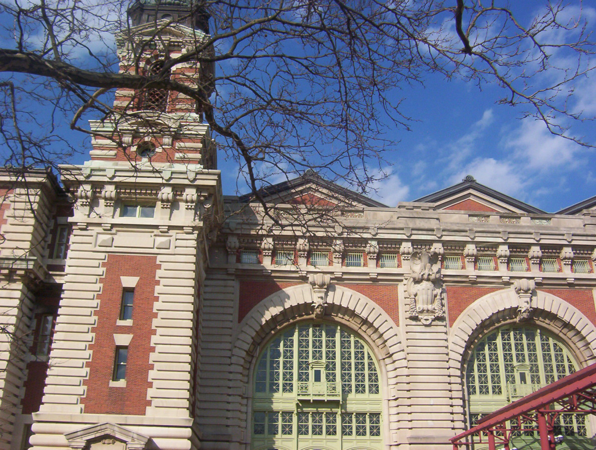 The Main Building at Ellis Island