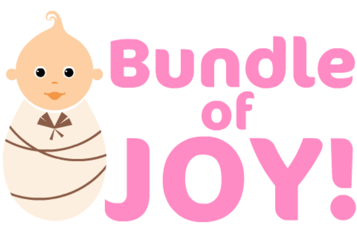 "girl baby clip art ""Bundle of Joy!"""