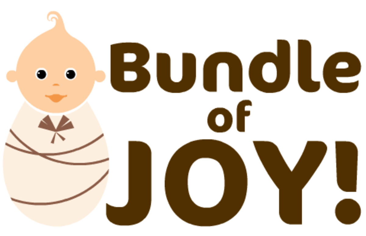 "Gender-neutral baby clip art ""Bundle of Joy!"""
