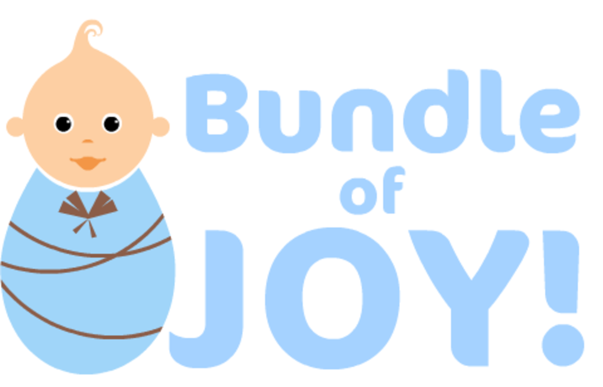 "Boy baby clip art ""Bundle of Joy!"""