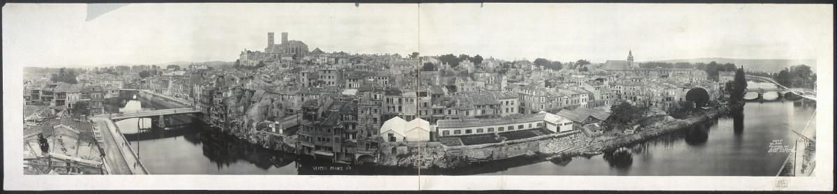Verdun, France. 1919.