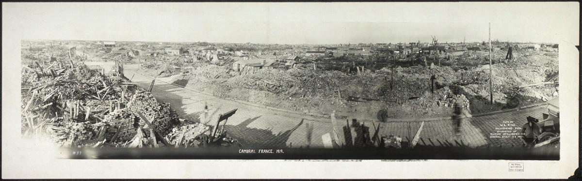 Cambrai, France. 1919.
