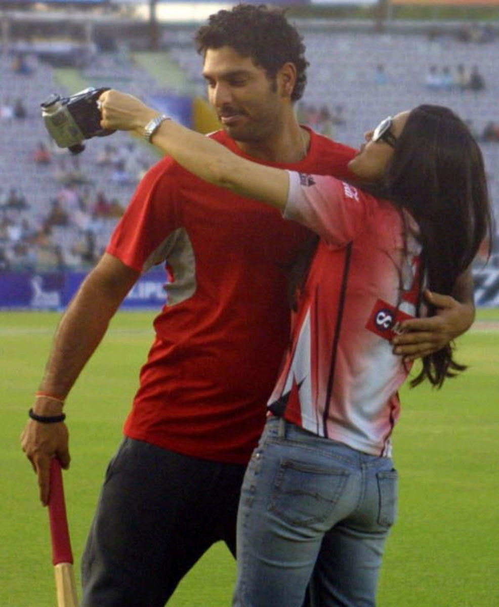 Priety and Yuvraj couple