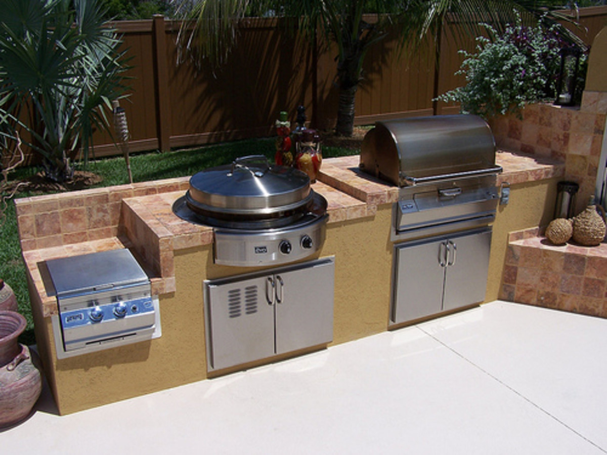 Evo Outdoor Kitchen (Photo courtesy by evogrills from Flickr)