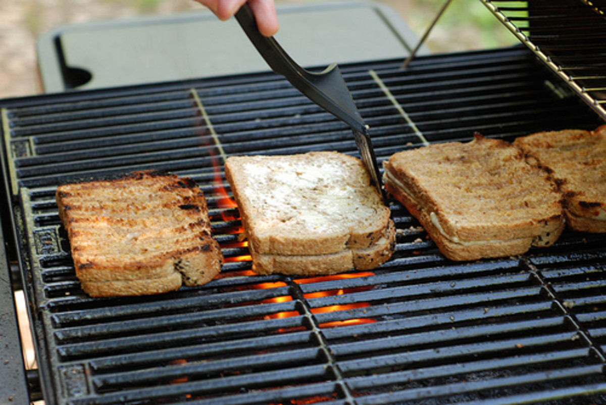 Grilled Bread (Photo courtesy by sam sha-put-ski from Flickr.com)