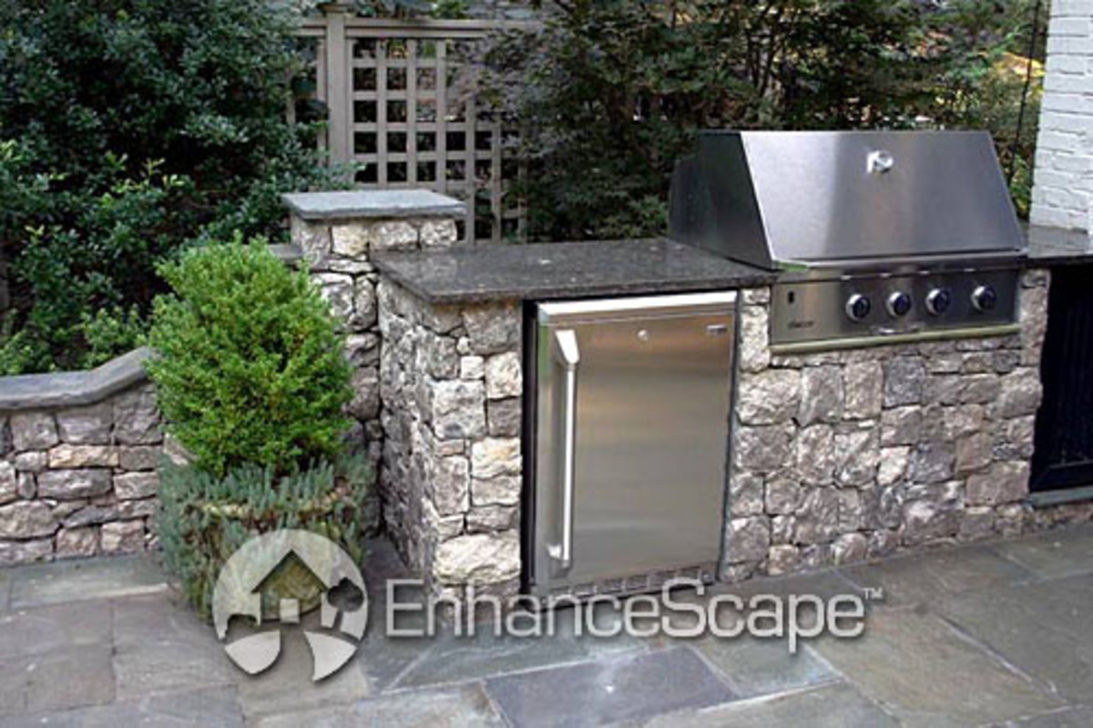 Outdoor Grill Model (Photo courtesy by EnhanceScape.com from Flickr)