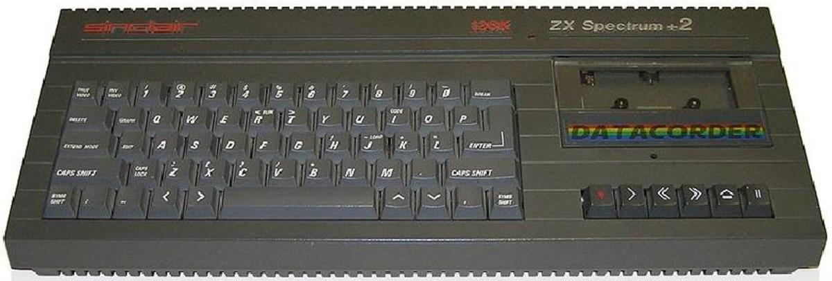 A ZX Spectrum +2
