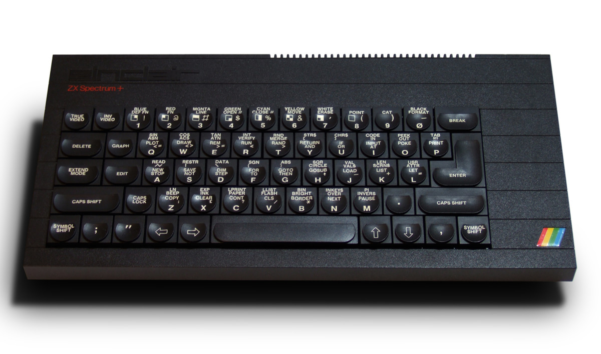 A resplendent looking Sinclair ZX Spectrum +