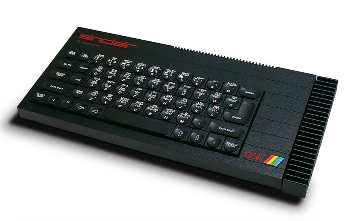 A nifty looking ZX Spectrum 128