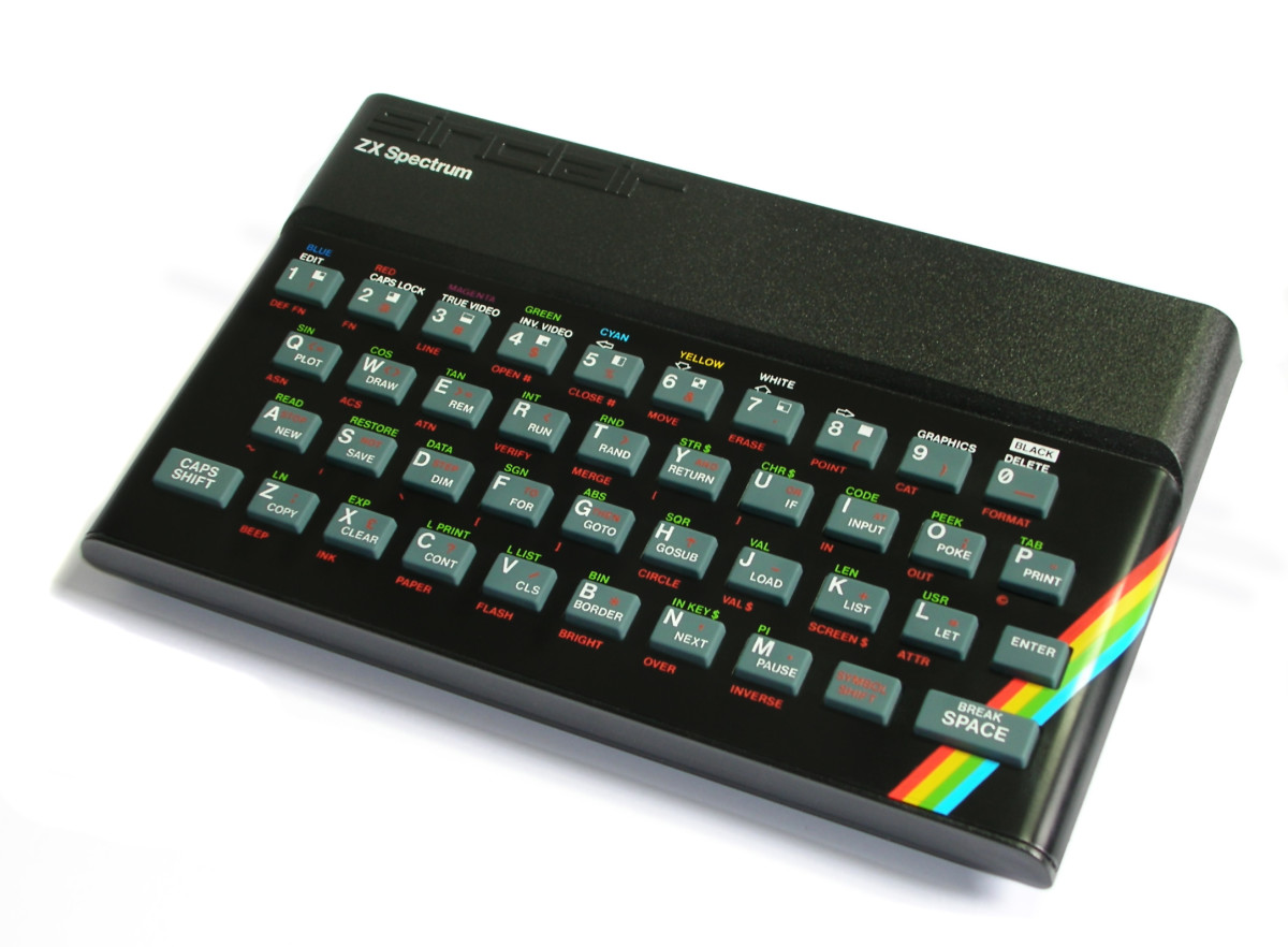 An original rubber keyed ZX Spectrum 48K