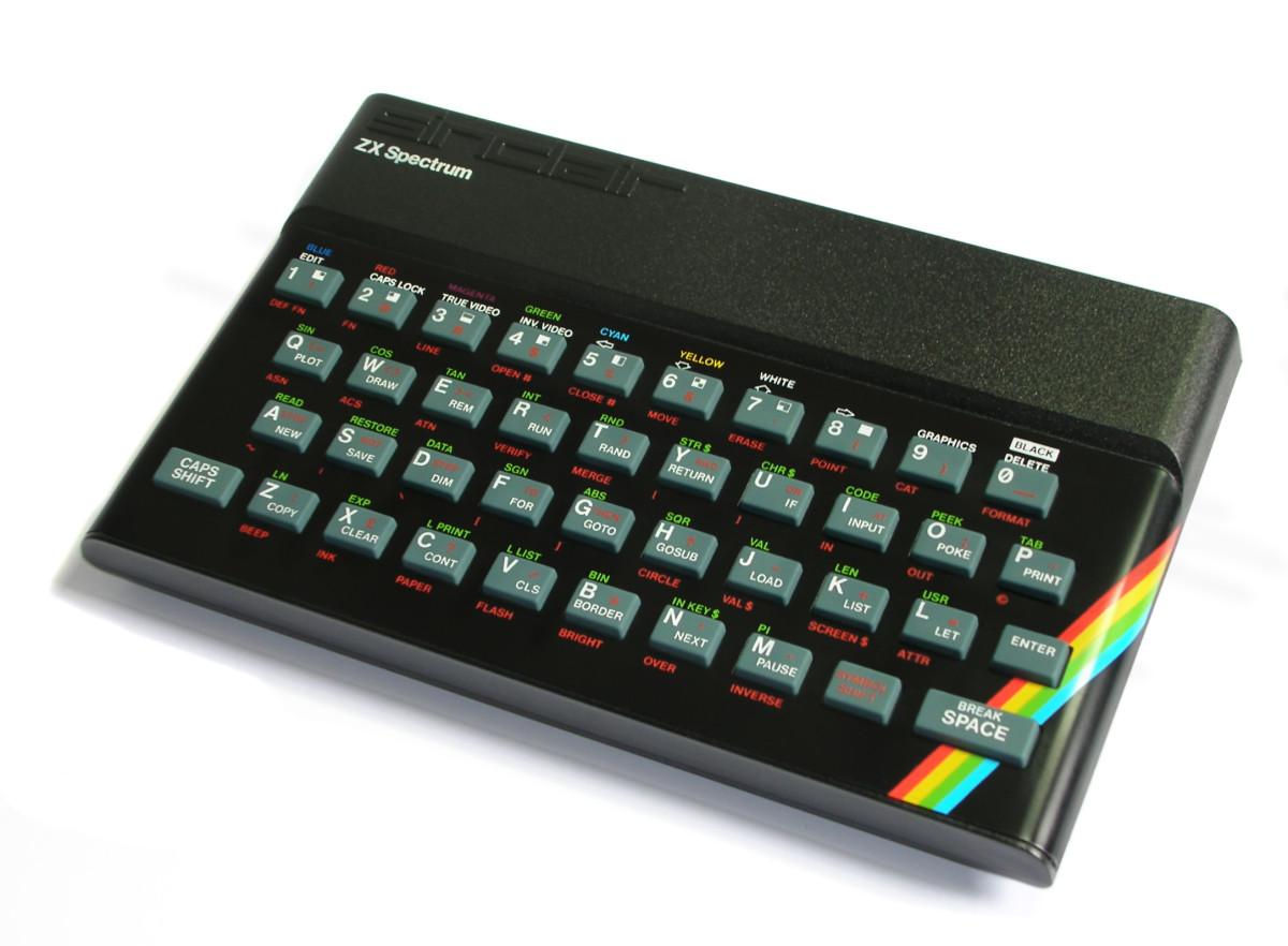 An original rubber keyed ZX Spectrum 48K