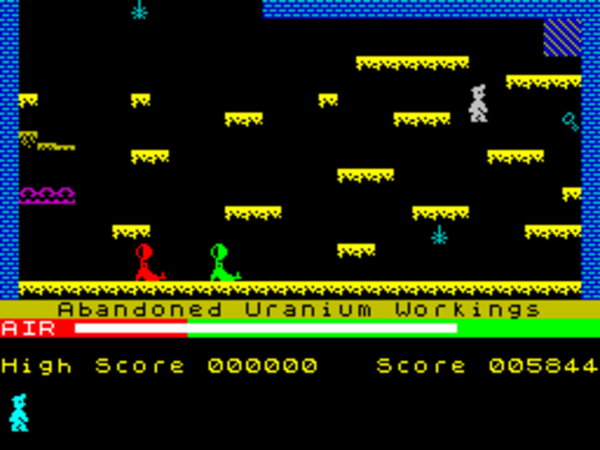 The first adventure for Miner Willy on the ZX Spectrum