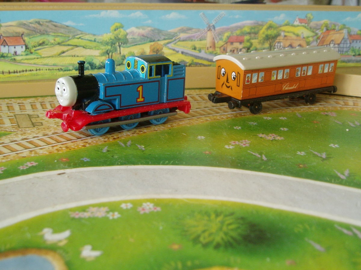 Thomas the Tank Engine Ertl Trains