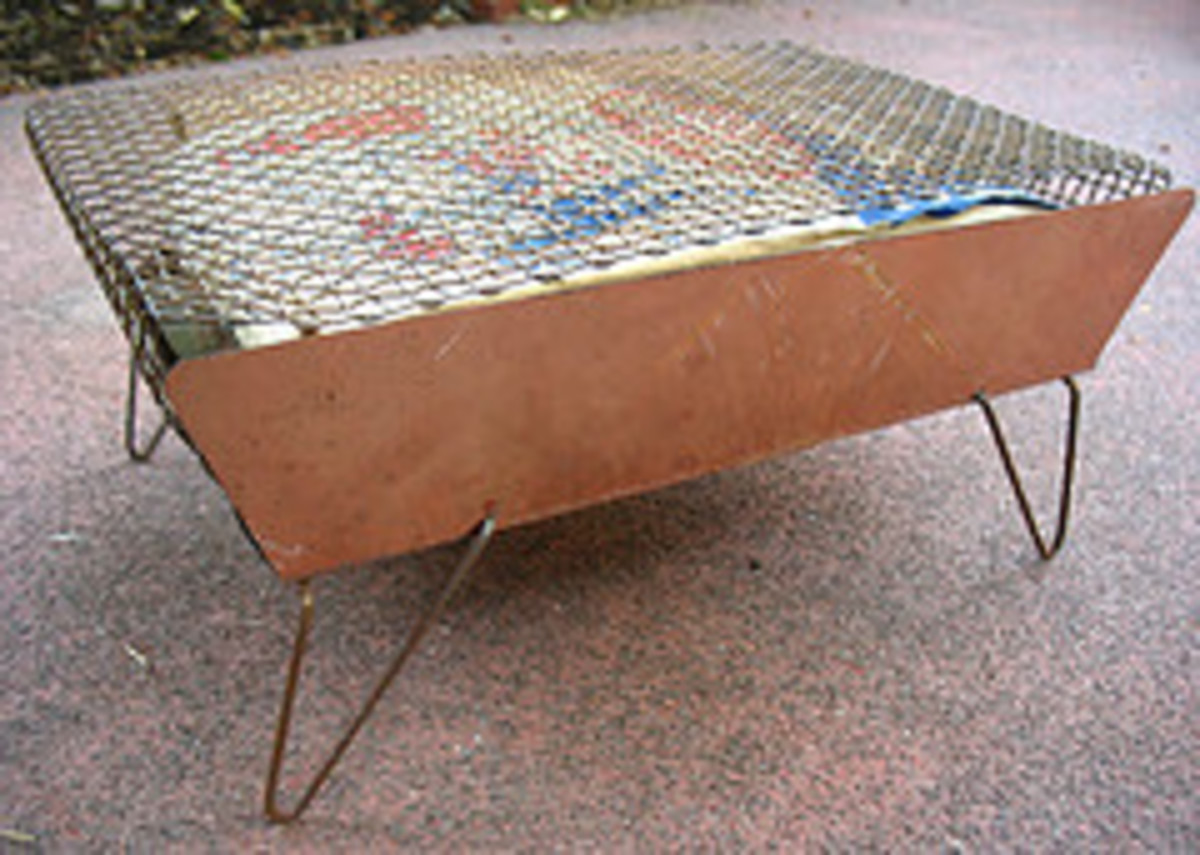 Mini Outdoor Grill - Grillette (Photo courtesy by wardomatic from Flickr)