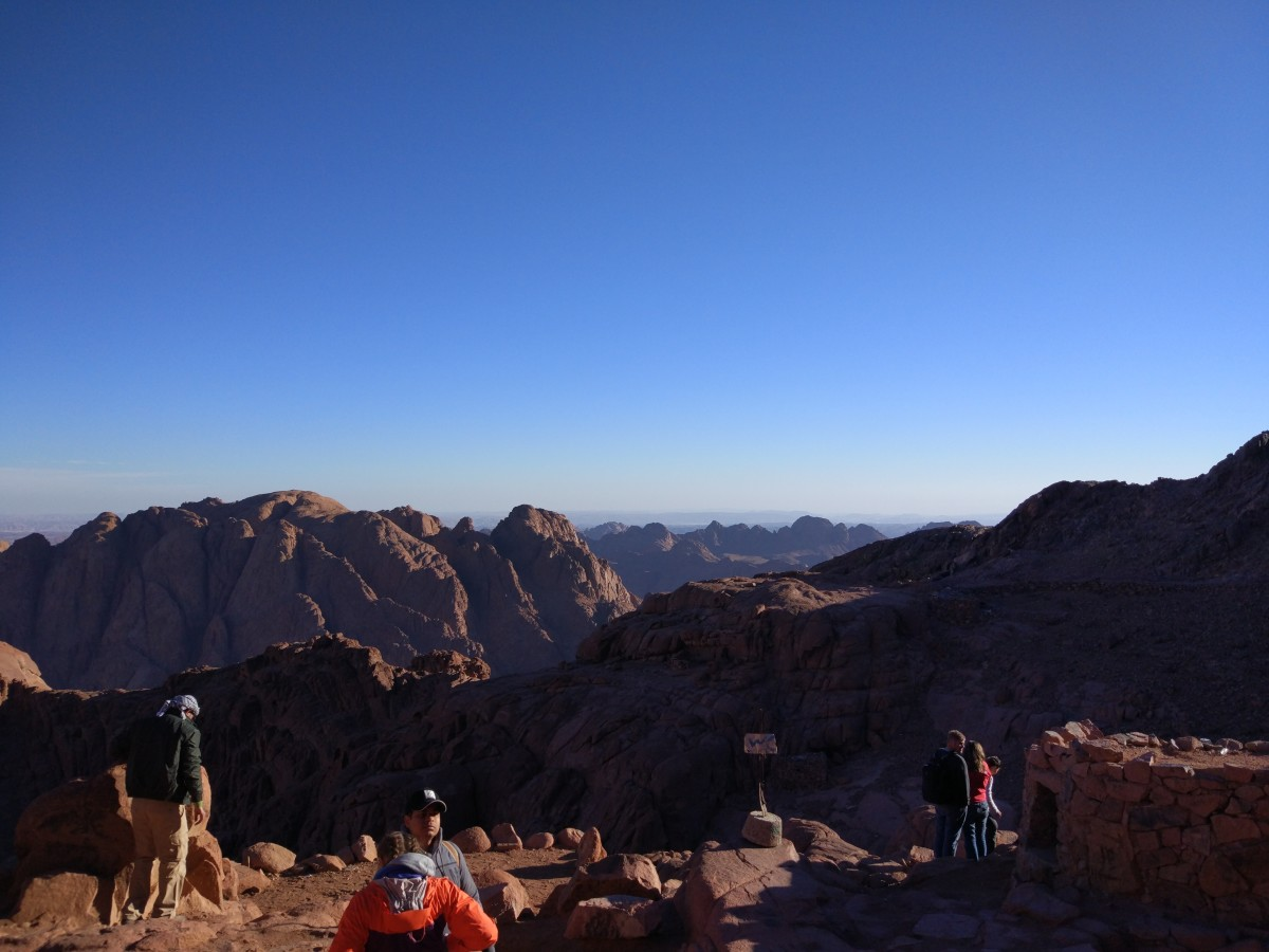 My Climb Up Mount Sinai, Egypt | SkyAboveUs