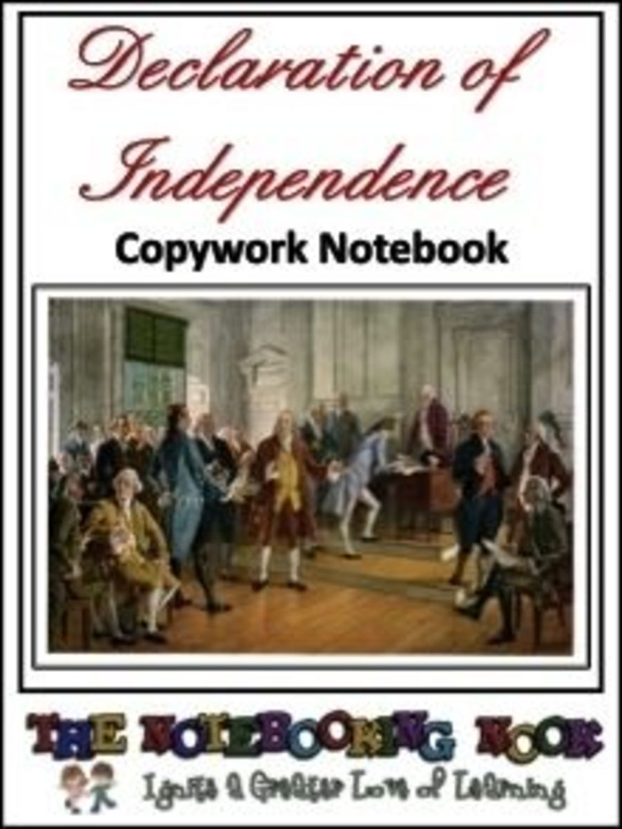 Declaration on Independence Notebook