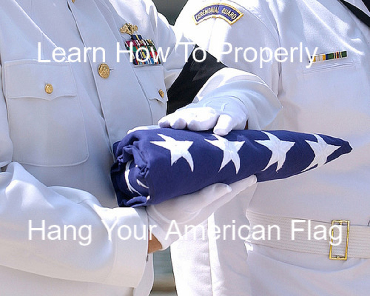 How to Properly Display Your American Flag