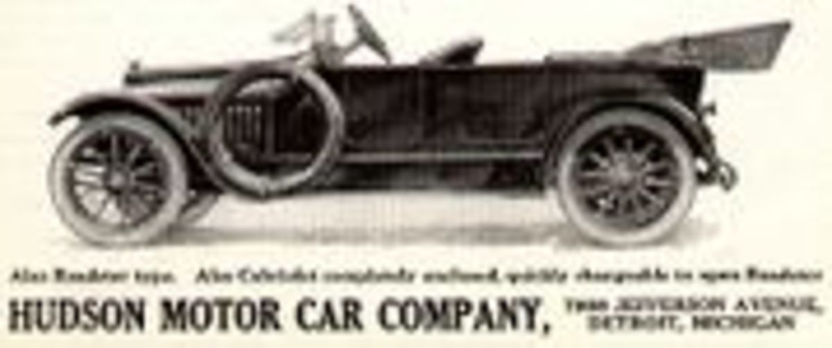Hudson advertised this car in 1914.